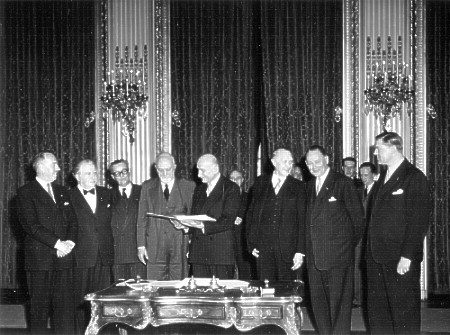 ratification of ECSC/Paris Treaty