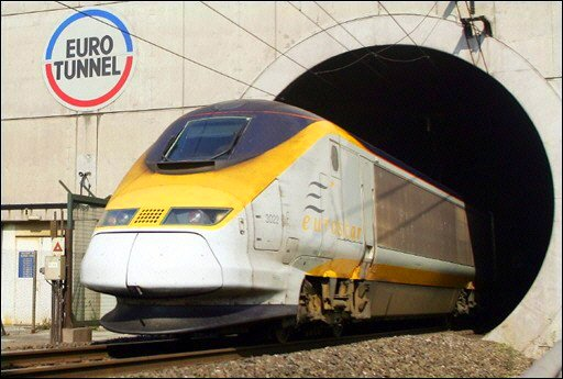 Eurotunnel through wich unsafe trains will be taken