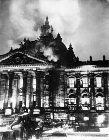 1933 Hitler's attack on Riechstag