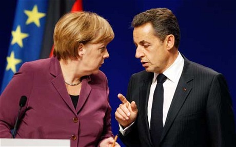 Heads of Germany and France confer on eurozone rules