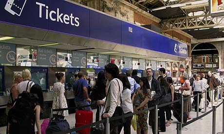 Increase in rail ticket prices