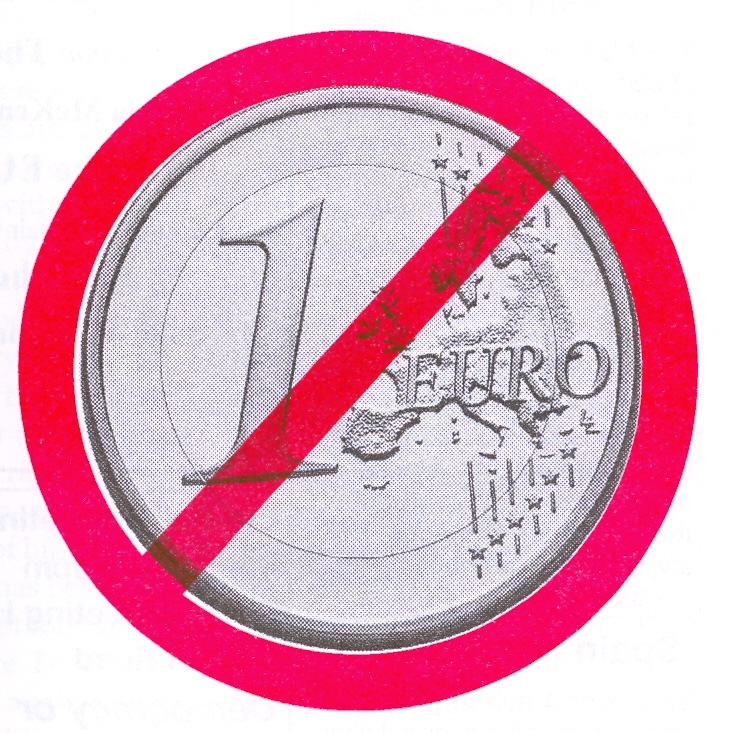 Symbol opposing the single currency
