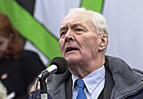 Tony Benn speaking