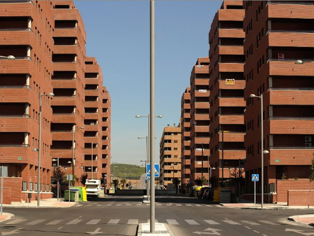 Spanish property boom - empty buildings
